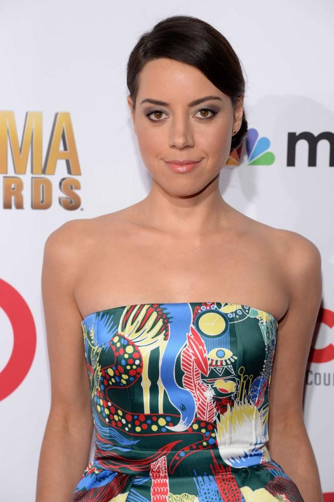 Aubrey Plaza: 2014 NCLR ALMA Awards -15
