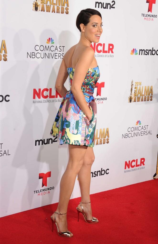 Aubrey Plaza: 2014 NCLR ALMA Awards -16