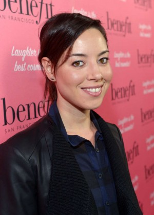 Aubrey Plaza - Benefit Cosmetics Kick-Off National Wing Women Weekend in LA