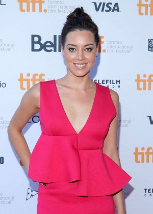 "Aubrey Plaza - ""Ned Rifle"" TIFF Premiere in Toronto"