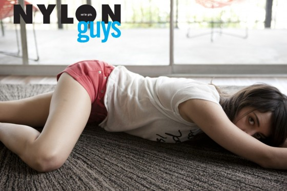 Aubrey Plaza - Nylon Guys Magazine (July 2012)