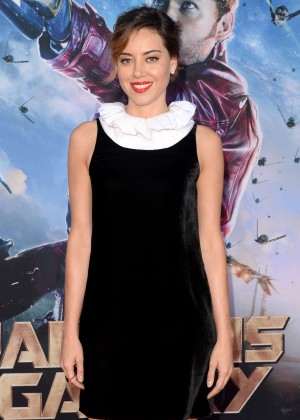 Aubrey Plaza - Premiere Of Marvel's 'Guardians Of The Galaxy' in Hollywood
