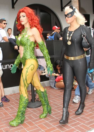 Audrina Patridge and Adrianne Curry - Cosplay Comic-Con 2014-06