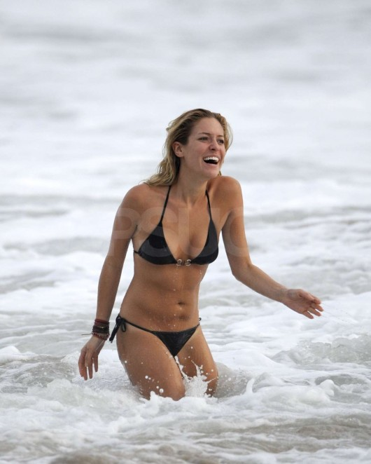 Audrina Patridge and Kristin Cavallari bikini candids in Costa Rica