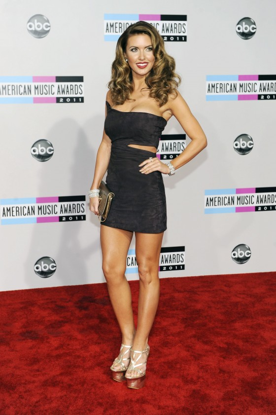 Audrina Patridge - Cleavage in Tight Dress at 2011 AMAs-02