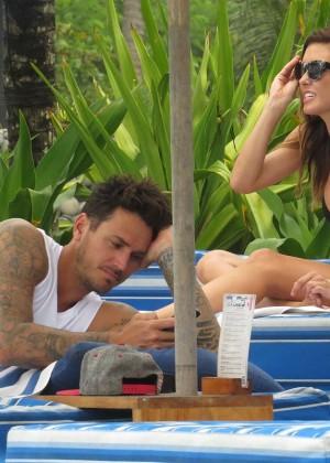Audrina Patridge Bikini Photos: 2014 in Bali -07