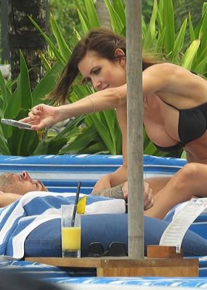 Audrina Patridge Bikini Photos: 2014 in Bali -14