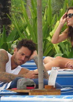 Audrina Patridge Bikini Photos: 2014 in Bali -17