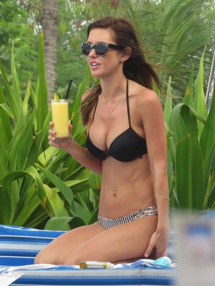 Audrina Patridge Bikini Photos: 2014 in Bali -19