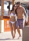 AUDRINA PATRIDGE in a White Bikini-01