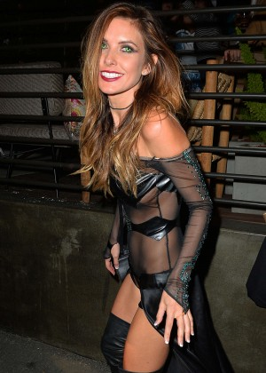 Audrina Patridge - Halloween Party at Hyde Nightclub in West Hollywood