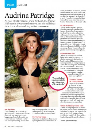 Audrina Patridge - Muscle and Fitness Hers 2014 -01
