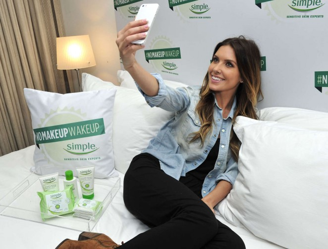 Audrina Patridge - #NoMakeupWakeup Event in LA