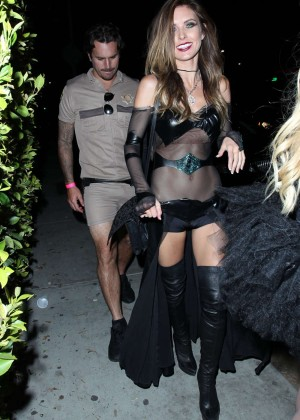 Audrina Patridge and Corey Bohan Fight Outside Hyde Nnightclub in West Hollywood