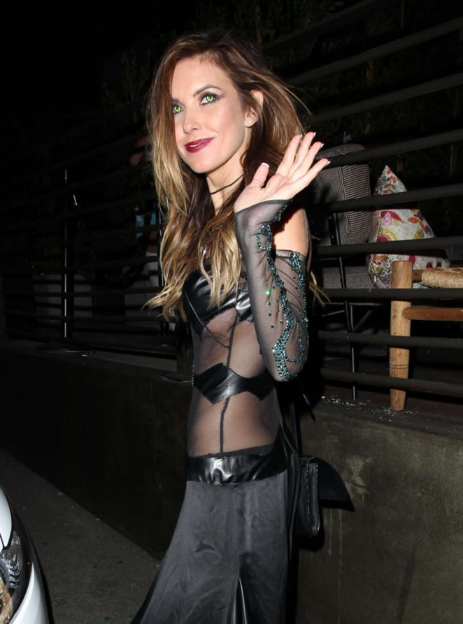 Audrina Patridge and Corey Bohan Fight Outside Hyde Nnightclub -28