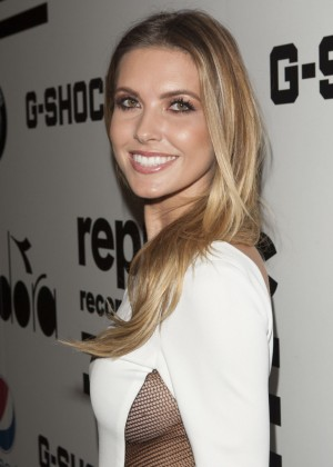 Audrina Patridge: Republic Records GRAMMY Party -01