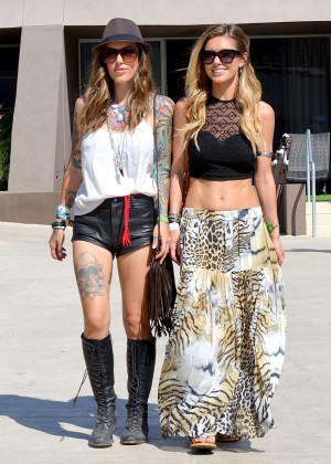 Audrina Patridge Long Skirt: Seen at the Hard Rock Hotel in Palm Springs -05