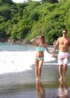 Audrina Patridge - Wearing a bikini in Tahiti -06