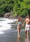 Audrina Patridge - Wearing a bikini in Tahiti -07