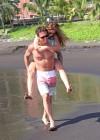 Audrina Patridge - Wearing a bikini in Tahiti -11
