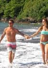 Audrina Patridge - Wearing a bikini in Tahiti -12