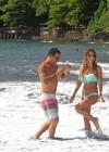 Audrina Patridge - Wearing a bikini in Tahiti -14