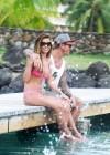 Audrina Patridge - Wearing a bikini in Tahiti -18