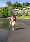 Audrina Patridge - Wearing a bikini in Tahiti -20