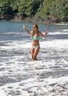 Audrina Patridge - Wearing a bikini in Tahiti -21