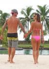Audrina Patridge - Wearing a bikini in Tahiti -22