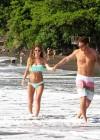 Audrina Patridge - Wearing a bikini in Tahiti -23