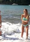 Audrina Patridge - Wearing a bikini in Tahiti -24