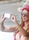 Audrina Patridge - Wearing a bikini in Tahiti -26