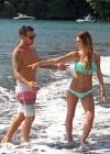 Audrina Patridge - Wearing a bikini in Tahiti -27