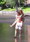 Audrina Patridge - Wearing a bikini in Tahiti -33