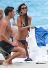 Audrina Patridge - Wearing Bikini in Miami  -12