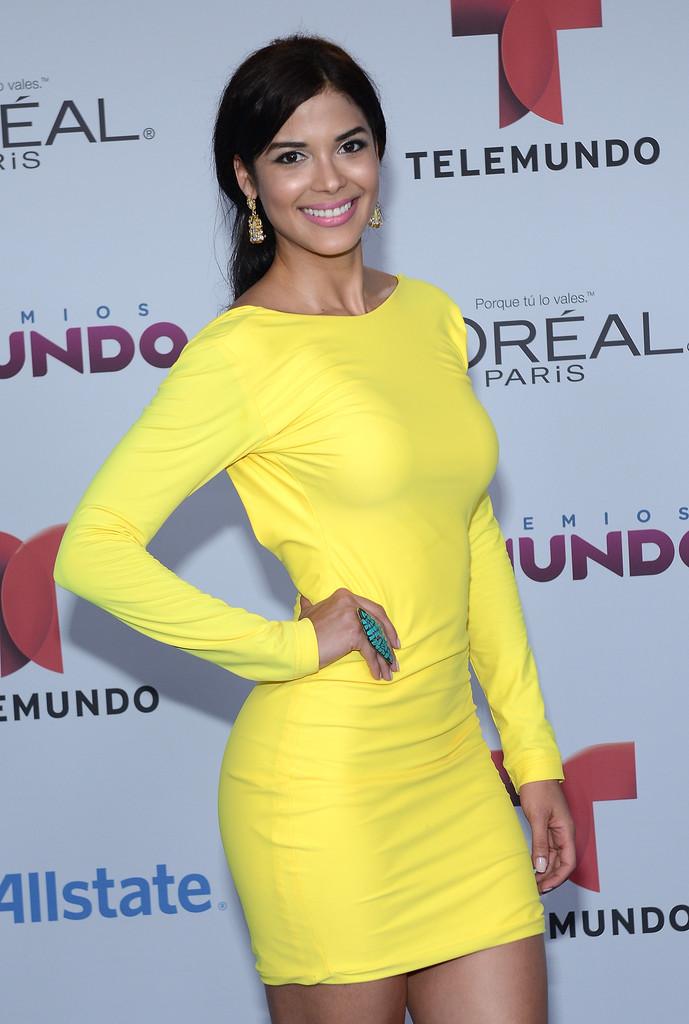 Audris Rijo - 2014 Telemundo's Premios Tu Mundo Awards in Miami