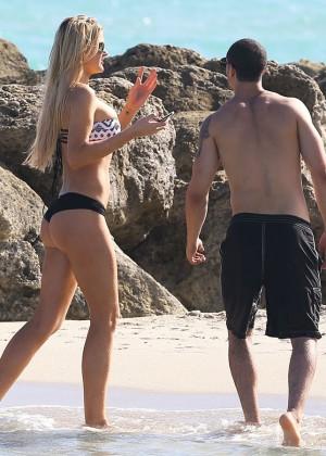 Autumn Brooke: Bikini Candids in Miami -18