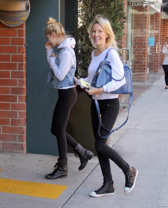 Ava Sambora and Heather Locklear – Out in LA