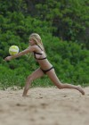 Ava Sambora Bikini Photos: 2014 Playing Volleyball  -02
