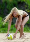 Ava Sambora Bikini Photos: 2014 Playing Volleyball  -03