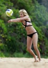 Ava Sambora Bikini Photos: 2014 Playing Volleyball  -12