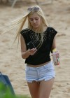 Ava Sambora Bikini Photos: 2014 Playing Volleyball  -16