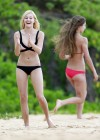 Ava Sambora Bikini Photos: 2014 Playing Volleyball  -17