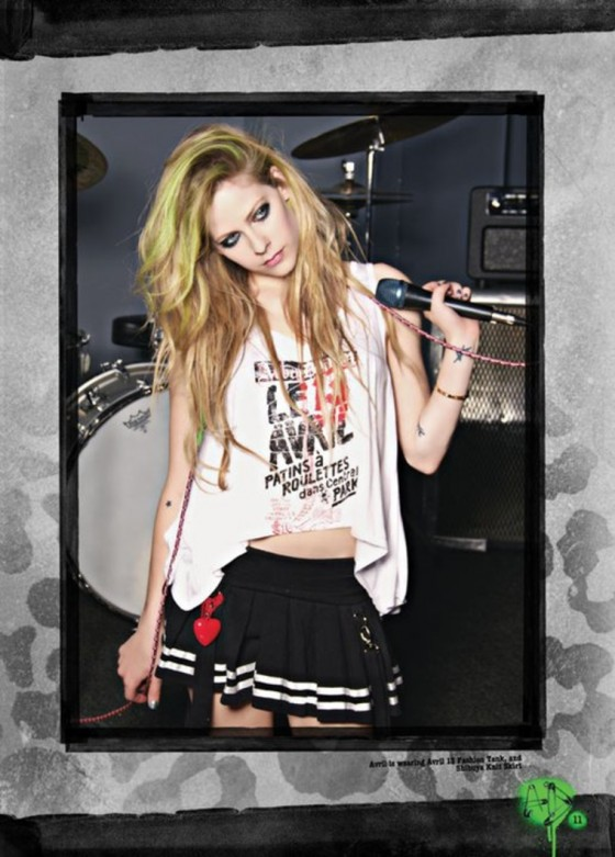 Avril Lavigne Hot in Abbey Dawn Photoshoot for Spring 2012-08