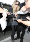 Avril Lavigne at LAX Airport -23