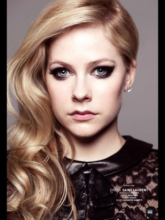 Avril Lavigne: Bello Magazine -05