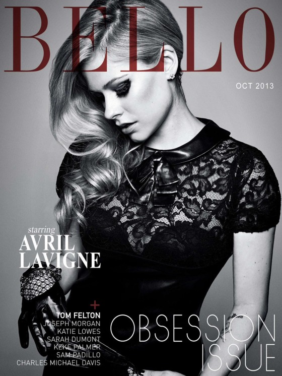 Avril Lavigne: Bello Magazine -10