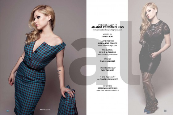 Avril Lavigne: Bello Magazine -12