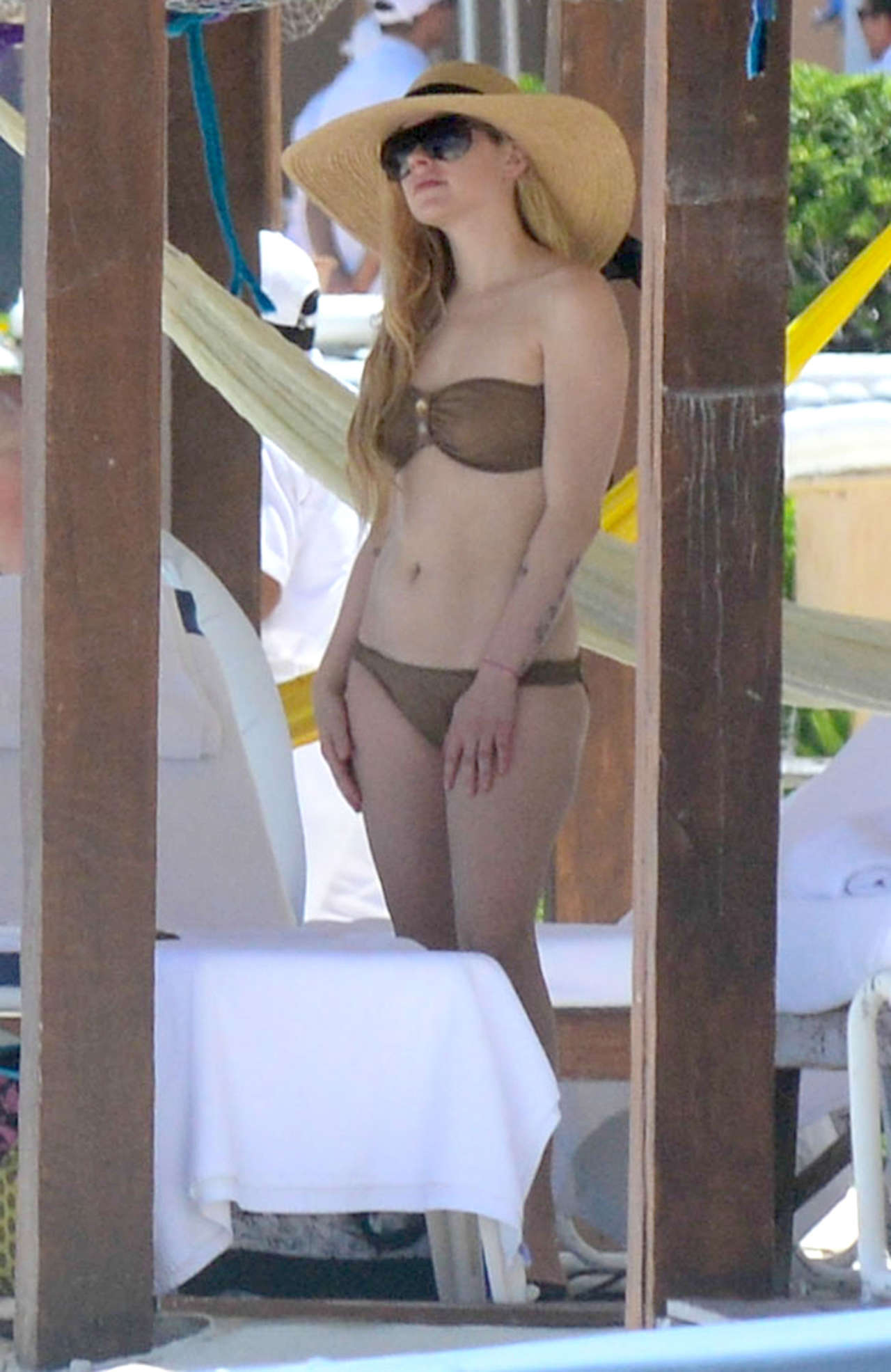 Threesome... nice avril levigne bikini the nastiest
